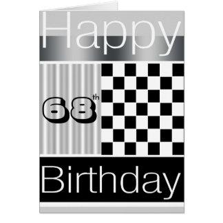 68th Birthday Greeting Card