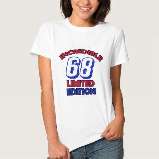 68th Birthday Design T Shirt
