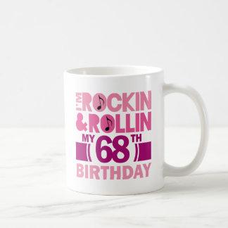 68th Birthday Gift Idea For Female Coffee Mugs