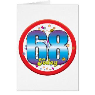 68th Birthday Today v2 Card