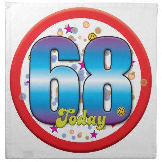 68th Birthday Today v2 Napkins