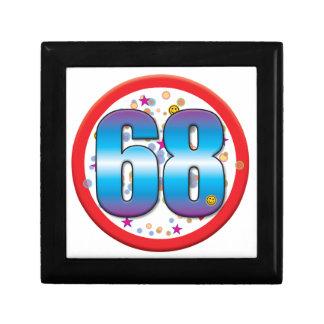68th Birthday v2 Keepsake Box