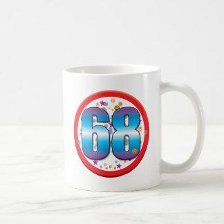 68th Birthday v2 Mugs