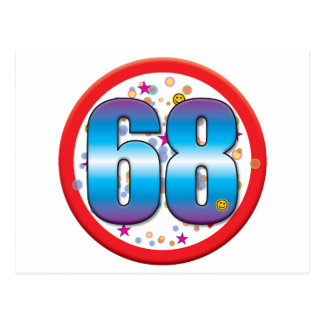 68th Birthday v2 Post Cards
