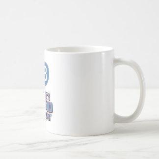 68th year birthday designs mug