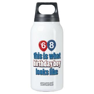 68th year birthday designs