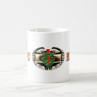 68W 1st Infantry Division Classic White Coffee Mug