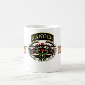 68W Medic 75th Ranger 2nd Battalion w/ Tab Coffee Mug