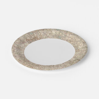 6970 Central Russia 7 Inch Paper Plate