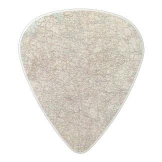 6970 Central Russia Acetal Guitar Pick