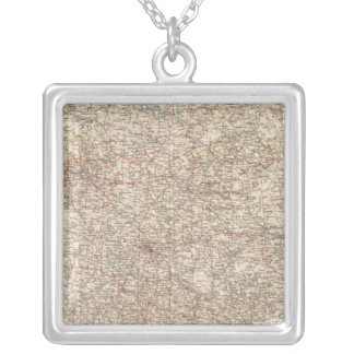 6970 Central Russia Silver Plated Necklace