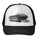 69 Buick GS in Black Trucker Hats