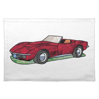 69 Corvette Sting Ray Roadster Place Mats