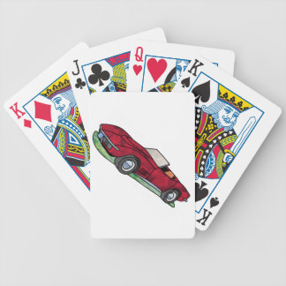 69 Corvette Sting Ray Roadster Poker Deck
