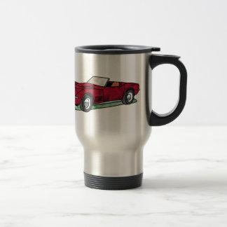 69 Corvette Sting Ray Roadster Stainless Steel Travel Mug