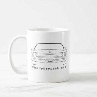 69 Fury Basic White Mug