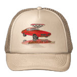 69 GTO Judge Carousel Red Trucker Hat