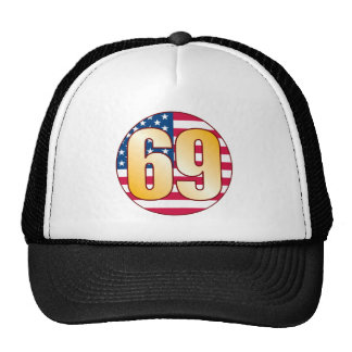 69 USA Gold Cap
