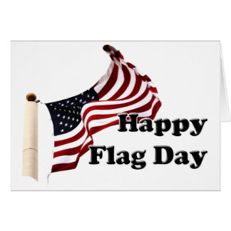 6-14 is United States of America Flag Day Greeting Card