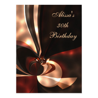 "6.5"" x 8.75"" Birthday Party Abstract Art 17 Cm X 22 Cm Invitation Card"