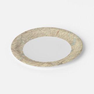 6 Brookfield sheet 7 Inch Paper Plate