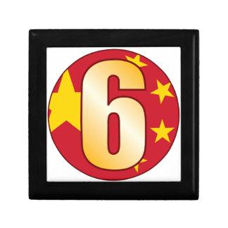 6 CHINA Gold Gift Box