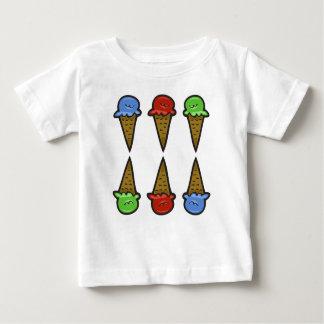 6 Ice Cream Cones #2 Baby T-Shirt