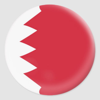 6 large stickers Bahrain flag