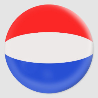 6 large stickers Holland Dutch flag