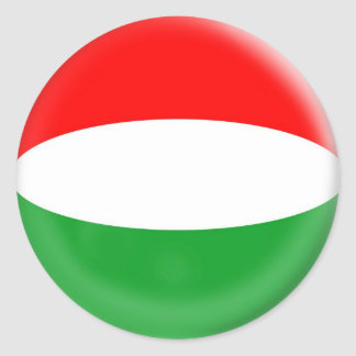 6 large stickers Hungary Hungarian flag