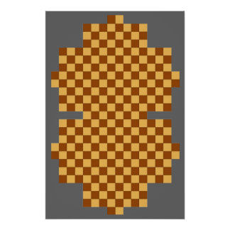 (6 Player) Texas Holdem / Chess Fridge Game Board Posters