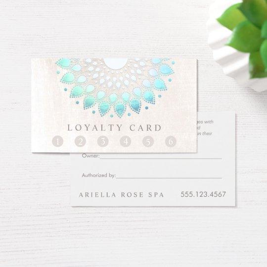 6 Punch Customer Loyalty Massage Spa Lotus Business