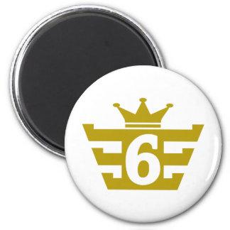 6-Royal.png 6 Cm Round Magnet