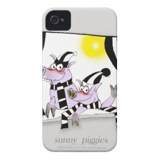 6 sunny piggies Case-Mate iPhone 4 cases