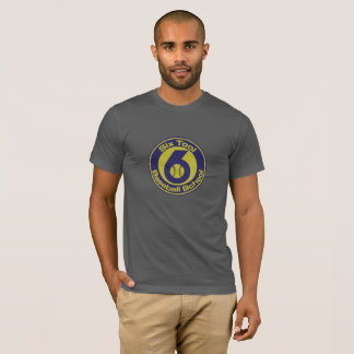 6 TB Men's shirt full color logo