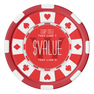 6 Ways to Personalize Your Classic Poker Chip Poker Chip Set