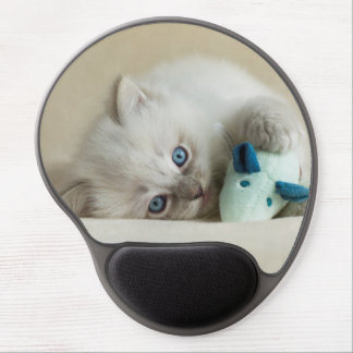 6 week old Ragdoll kitten Gel Mouse Mat