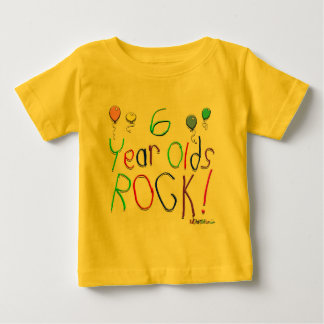 6 Year Olds Rock ! Shirt