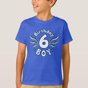 6 Years Old Boy Birthday T Shirt