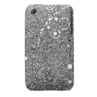 6A Psyart texture iPhone 3 Cover