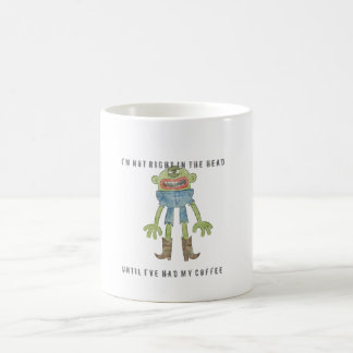 6D NOT RIGHT COFFEE MUG  [WHITE]