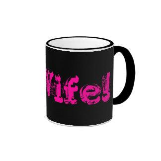 6E Wife! Ringer Mug