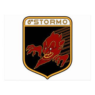 6o Stormo Postcard