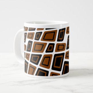 6O's Deco Large Coffee Mug