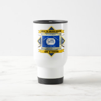 6th & 7th Arkansas Infantry (v5) Travel Mug