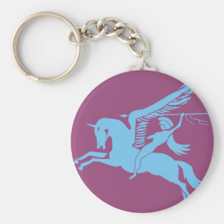 6th Airborne Key Ring