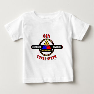 """6TH ARMORED DIVISION """"SUPER SIXTH"""" TEE SHIRTS"""