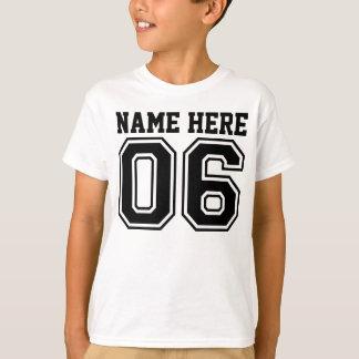6th Birthday (Customizable Kid's Name) Shirts