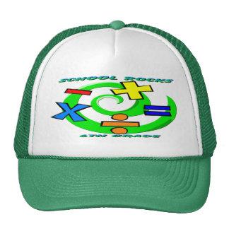 6th Grade Rocks - Math Symbols Hats