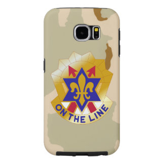 """6th Infantry Division """"Desert Camo"""" Samsung Galaxy S6 Cases"""